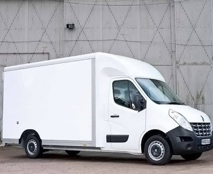 We use HUGE VANS for our local house clearance service.